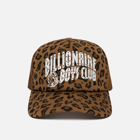 Мужская кепка Billionaire Boys Club Leopard Trucker Brown