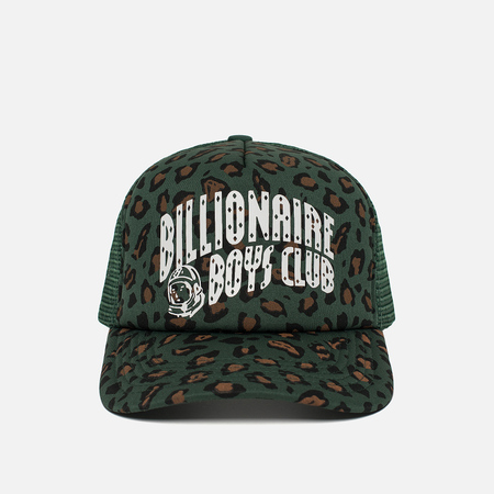 Мужская кепка Billionaire Boys Club Leopard Trucker Green