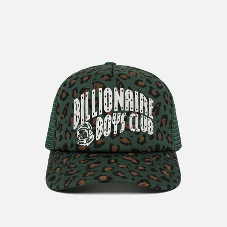 Мужская кепка Billionaire Boys Club Leopard Trucker Green