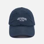 Мужская кепка Billionaire Boys Club Nylon Curved Visor Navy фото- 0