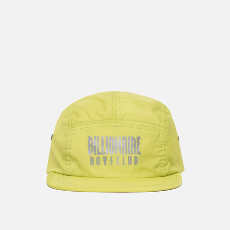 Мужская кепка Billionaire Boys Club Reflective Logo 5 Panel Cyber Yellow