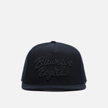 Мужская кепка Billionaire Boys Club Script Logo Black фото- 0