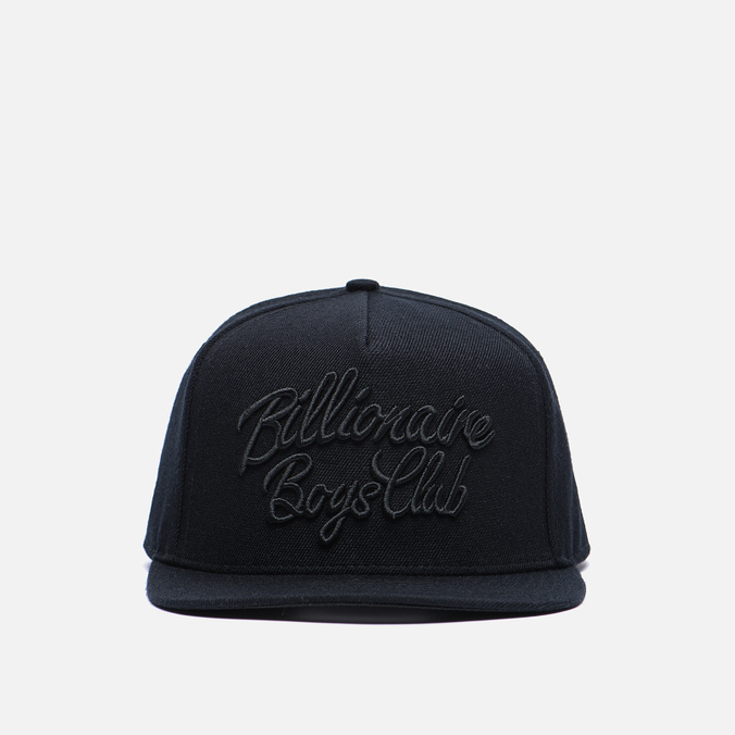 Мужская кепка Billionaire Boys Club Script Logo Black