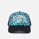 Мужская кепка Billionaire Boys Club Trucker Printed Front Logo Blue фото- 0