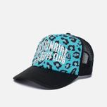Мужская кепка Billionaire Boys Club Trucker Printed Front Logo Blue фото- 1