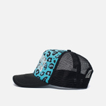 Мужская кепка Billionaire Boys Club Trucker Printed Front Logo Blue фото- 2