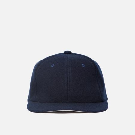 Мужская кепка Blue Blue Japan J5646 Hand Dyed Melton Classic Baseball Indigo