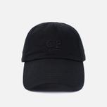Мужская кепка C.P. Company Baseball Logo Caviar Black фото- 0