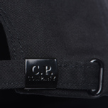 Мужская кепка C.P. Company Baseball Logo Caviar Black фото- 3