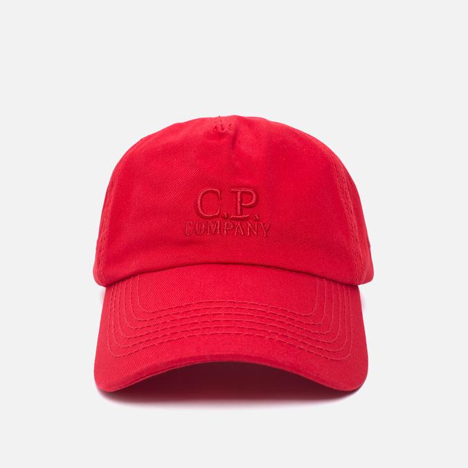 Мужская кепка C.P. Company Baseball Logo Mars Red