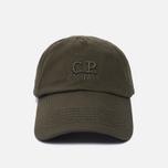 Мужская кепка C.P. Company Baseball Logo Moss фото- 0