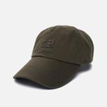 Мужская кепка C.P. Company Baseball Logo Moss фото- 1