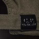 Мужская кепка C.P. Company Baseball Logo Moss фото- 3