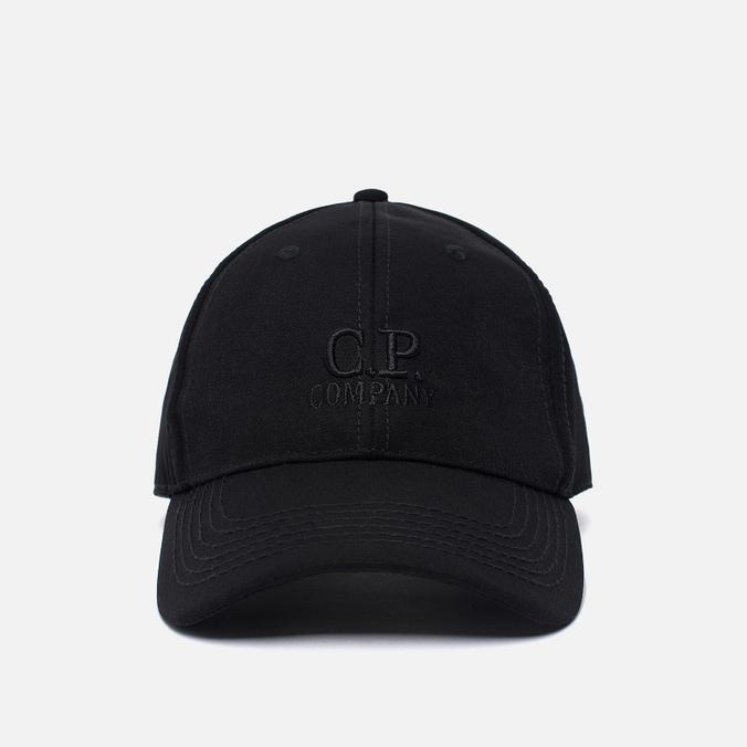 Мужская кепка C.P. Company C.P. Soft Shell Logo Caviar Black