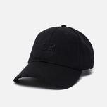 Мужская кепка C.P. Company C.P. Soft Shell Logo Caviar Black фото- 1