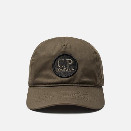 Кепка C.P. Company Cotton Gabardine Goggle Logo Cloudburst