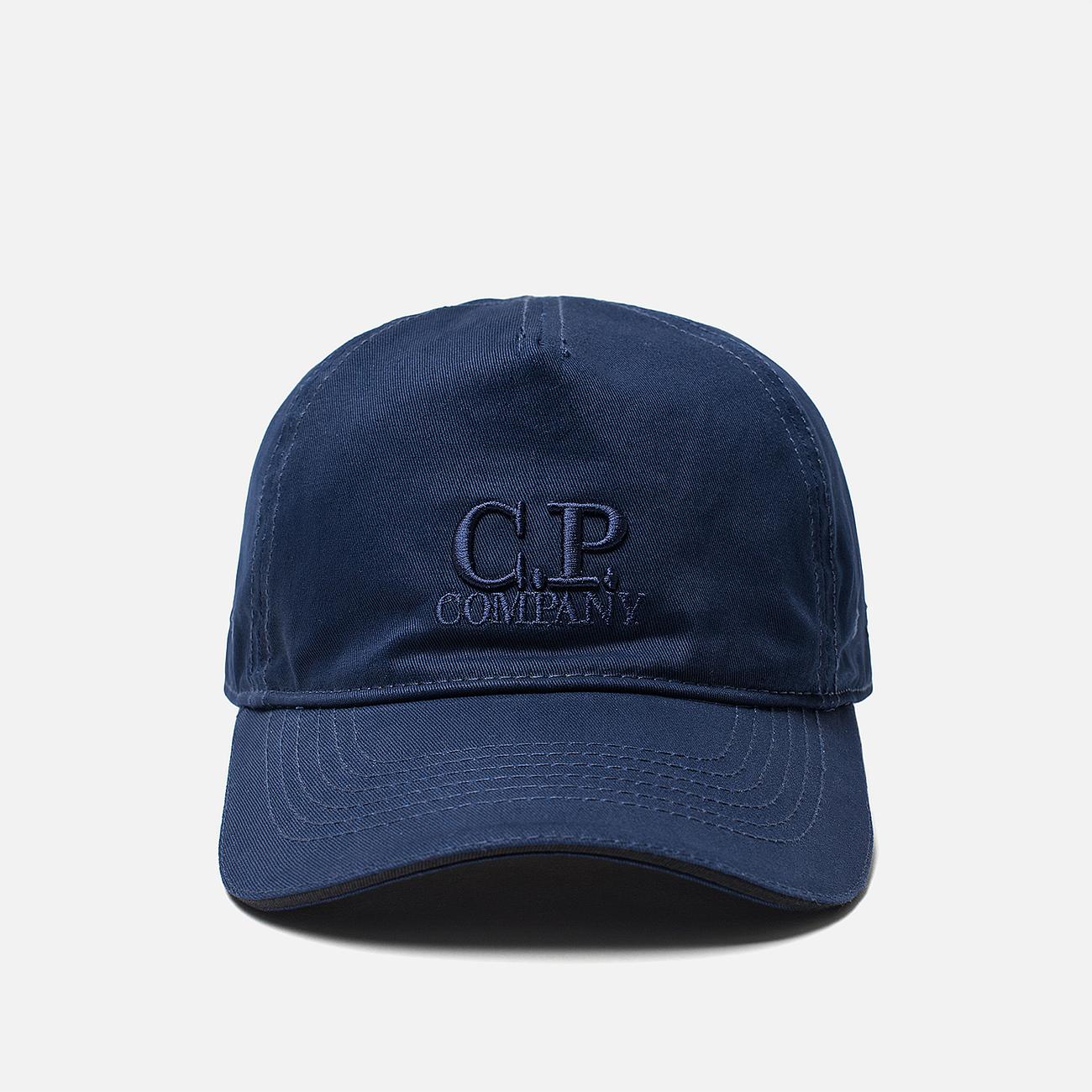 Кепка C.P. Company Embroidered Logo Estate Blue