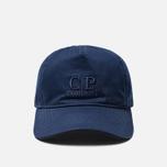 Кепка C.P. Company Embroidered Logo Estate Blue фото- 0