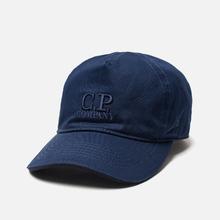 Кепка C.P. Company Embroidered Logo Estate Blue фото- 1