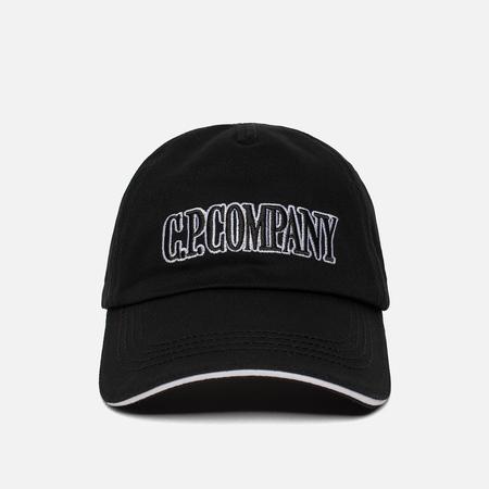 Мужская кепка C.P. Company Gabardine Baseball Caviar Black