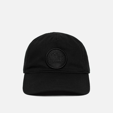 Мужская кепка C.P. Company Gabardine Baseball Goggle Caviar Black