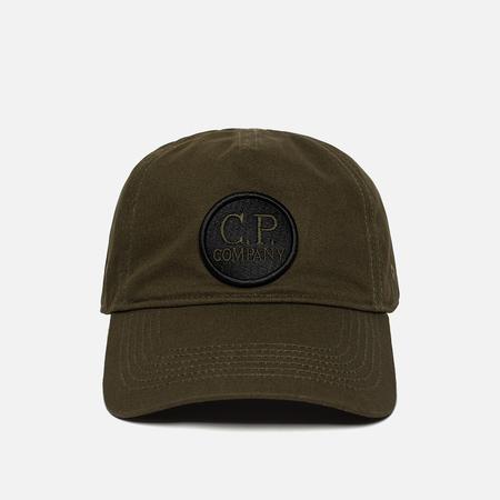 Мужская кепка C.P. Company Gabardine Baseball Goggle Dark Olive
