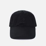 Мужская кепка C.P. Company Goggle Baseball Logo Caviar фото- 0