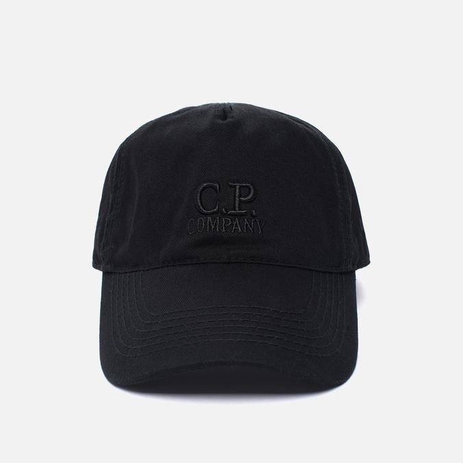 Мужская кепка C.P. Company Goggle Baseball Logo Caviar
