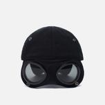 Мужская кепка C.P. Company Goggle Baseball Logo Caviar фото- 4