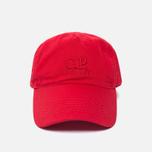 Мужская кепка C.P. Company Goggle Baseball Logo Mars Red фото- 0