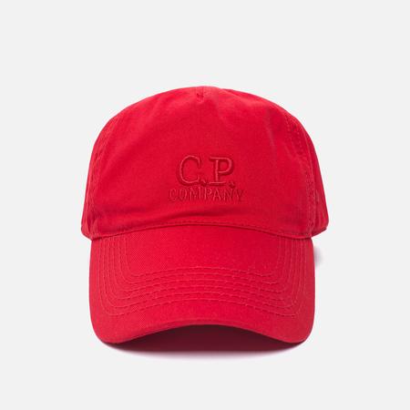 Мужская кепка C.P. Company Goggle Baseball Logo Mars Red