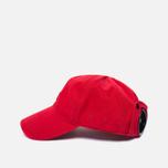 Мужская кепка C.P. Company Goggle Baseball Logo Mars Red фото- 2