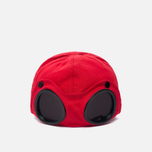 Мужская кепка C.P. Company Goggle Baseball Logo Mars Red фото- 3