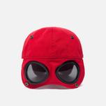 Мужская кепка C.P. Company Goggle Baseball Logo Mars Red фото- 4