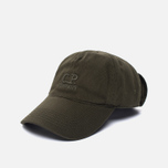 Мужская кепка C.P. Company Goggle Baseball Logo Moss фото- 1