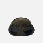 Мужская кепка C.P. Company Goggle Baseball Logo Moss фото- 3