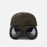 Мужская кепка C.P. Company Goggle Baseball Logo Moss фото- 4