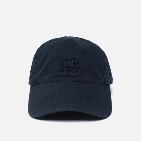 Мужская кепка C.P. Company Goggle Logo Total Eclipse