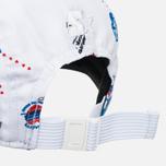 Мужская кепка Carhartt WIP Gray Starter History Print/White фото- 5