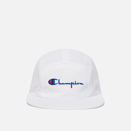 Мужская кепка Champion Reverse Weave 5 Panel White