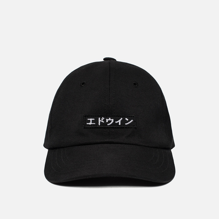 Мужская кепка Edwin 6 Panel Ball Compact Twill Black Rinsed