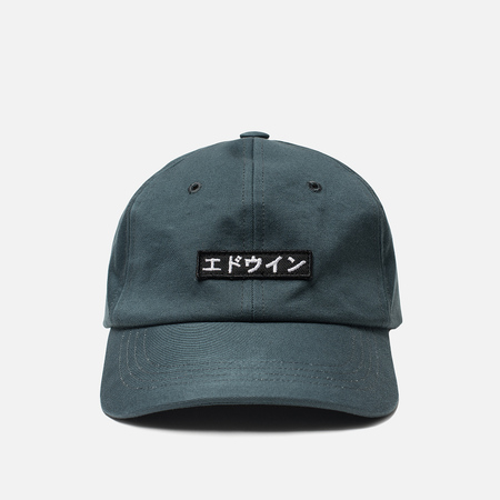 Кепка Edwin 6 Panel Ball Compact Twill Dark Slate Rinsed