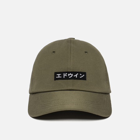 Мужская кепка Edwin 6 Panel Ball Compact Twill Military Green Rinsed