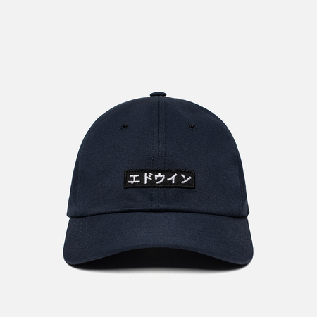 Кепка Edwin 6 Panel Ball Compact Twill Navy Rinsed