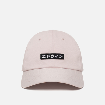 Мужская кепка Edwin 6 Panel Ball Compact Twill Pink Rinsed