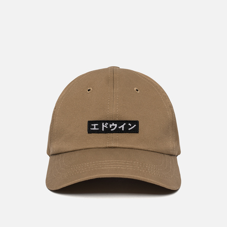 Мужская кепка Edwin 6 Panel Ball Compact Twill Stone Beige Rinsed