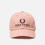 Кепка Fred Perry Embroidered Tennis Grey Pink фото- 0