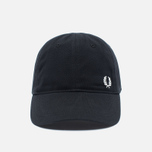 Мужская кепка Fred Perry Pique Classic Black фото- 0