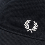 Мужская кепка Fred Perry Pique Classic Black фото- 3