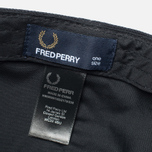 Мужская кепка Fred Perry Pique Classic Black фото- 5